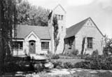 DeBoer's studio and front showplace garden
