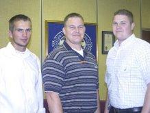 Randall Hinton (center)