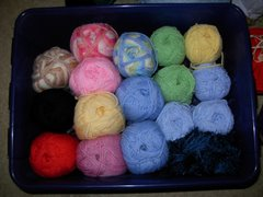 My newest yarns
