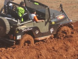 Jeeps na I Trilha das Malhas