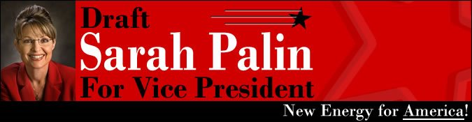 Draft Sarah Palin For Vice President