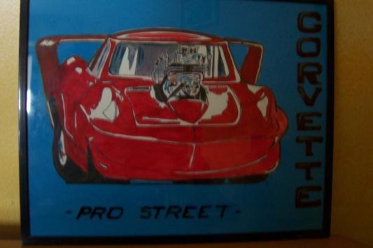 Corvette pro street