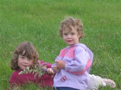 Charley (Charlotte - 5) & Molly (3)