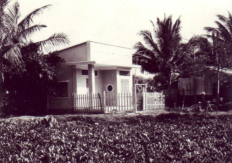 Author's bungalow.