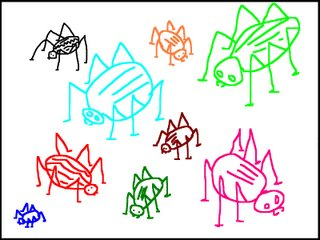 The Colored Bugs<br />