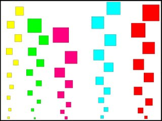 The Colored Square Bubbles<br />