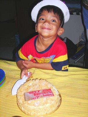 faiz a'aqil, 4 years-old