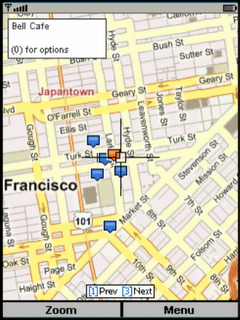 Windows Live Search Map
