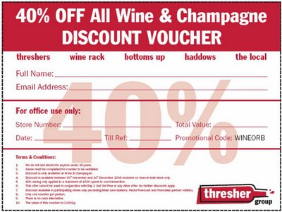 Theshers Voucher