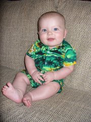 Keenan at four months