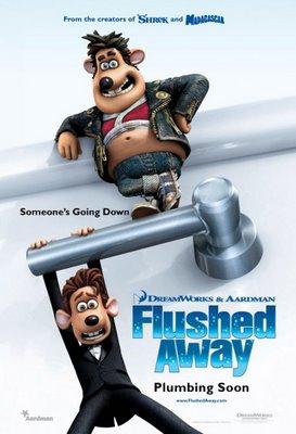 Flushed Away Poster @ GV VivoCity