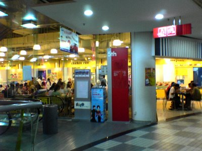 Banquest Foodcourt at EastPoint Shopping Mall