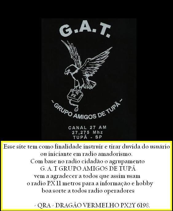 AGRUPAMENTO G.A.T. PX TUPÃ