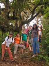 Climbing to La Cruz