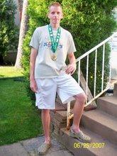 Me, post-Grandma's Marathon