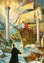 Il sogno delle due colonne - S. Giovanni Bosco