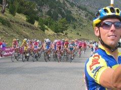 Grayson at the 2005 Vuelta