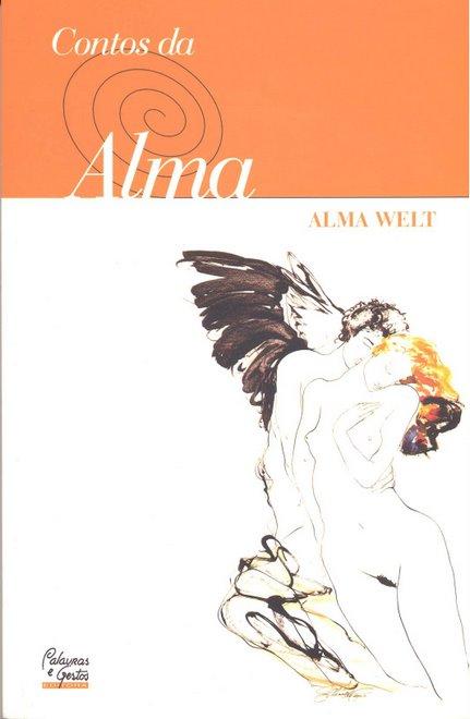 Capa dos Contos da Alma, de Alma Welt