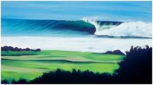 O meu ideal de paraiso...uma onda solitária rodeada pela natureza.