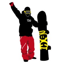 ¡looove snowboarding!