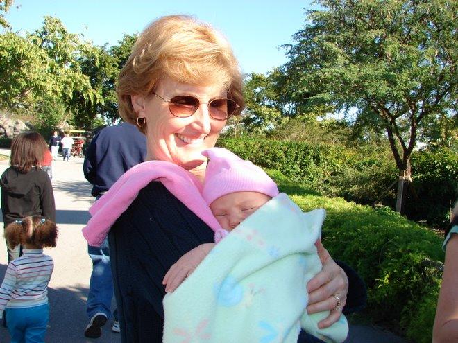 Baylee Meets Grandma Cynde