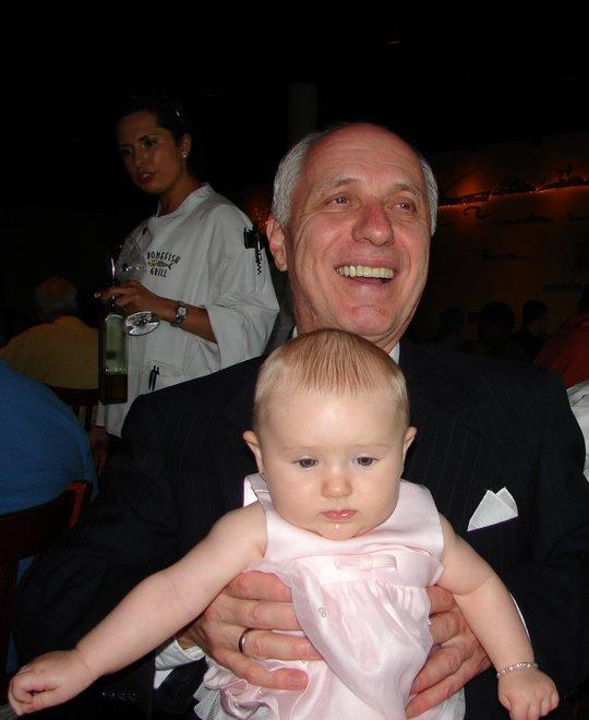 Baylee Meets her Opa