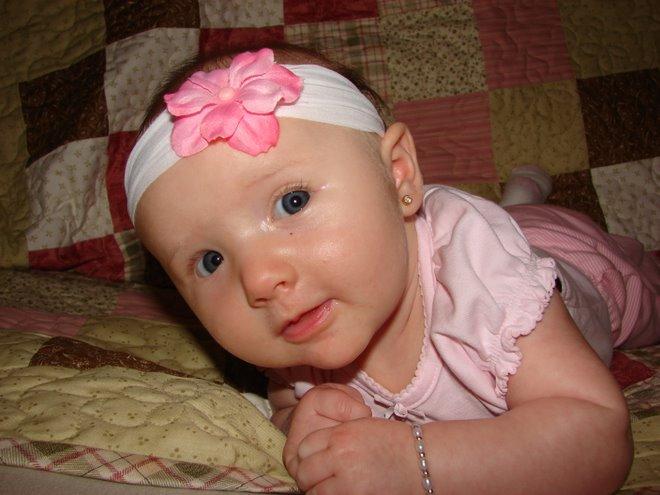 Baylee got her Ear Pierced!