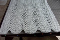 Wave & Shell Shawl