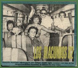 GIRA PERÚ 1982