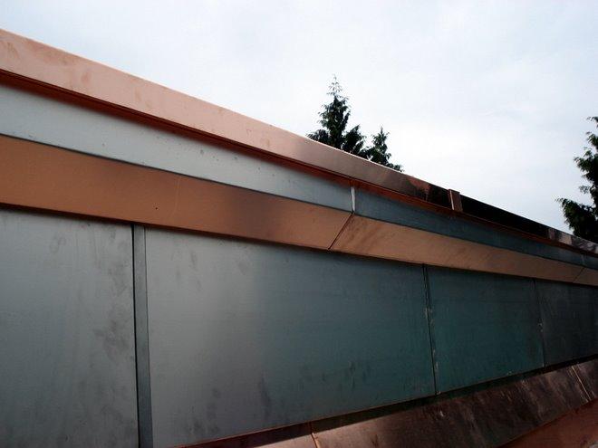corniche et façade