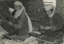 В туркменской юрте - кара-ой