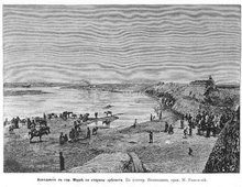 Паводок на реке Мургаб