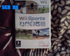 wii sport jaquette