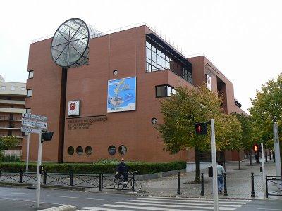 Evry daily photo l 39 immeuble de la chambre de commerce et d 39 industrie de l 39 essonne evry - Chambre du commerce evry ...