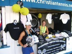 ICTA Booth at 2006 Cincy Masters