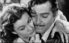 CLARK GABLE Y VIVIAN LEIGHT