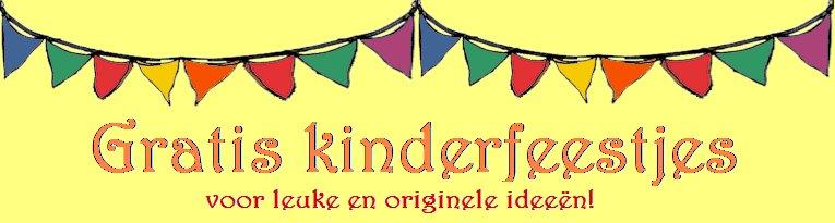gratis ideeën voor kinderfeestjes