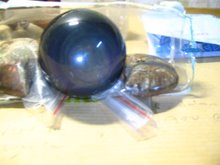 Rainbow Obsidian Sphere~