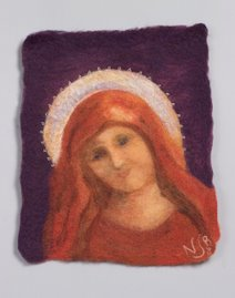Felting Mary