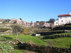 Vistas da Povoação onde se encontra a Quinta do Senhor de Caldeira