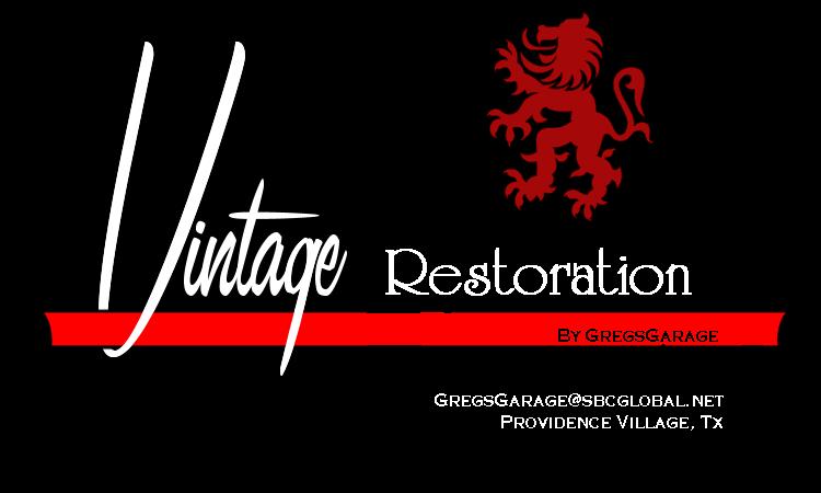 Vintage Restoration