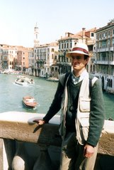 Chris in Venice