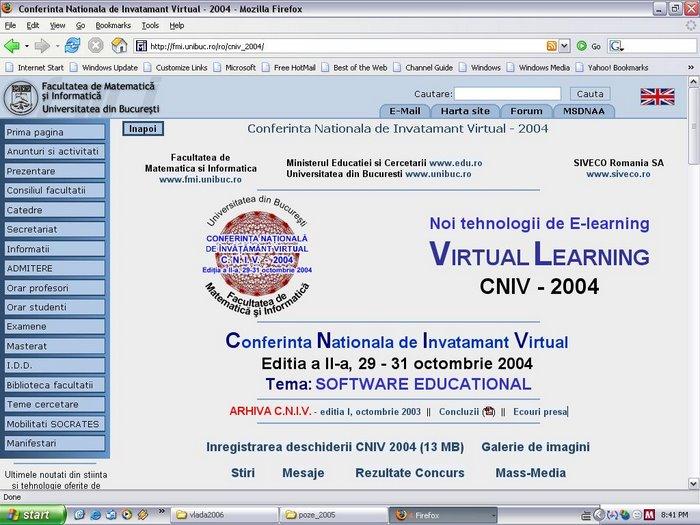 Web site CNIV 2004