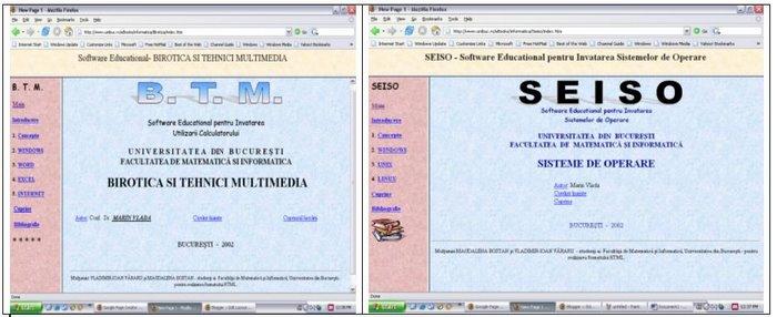 BTM , SEISO - M. Vlada, 2002, Universitatea din Bucuresti