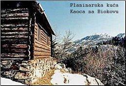 Jedna od najljepših planinarskih kućica na Biokovu-Kaoca