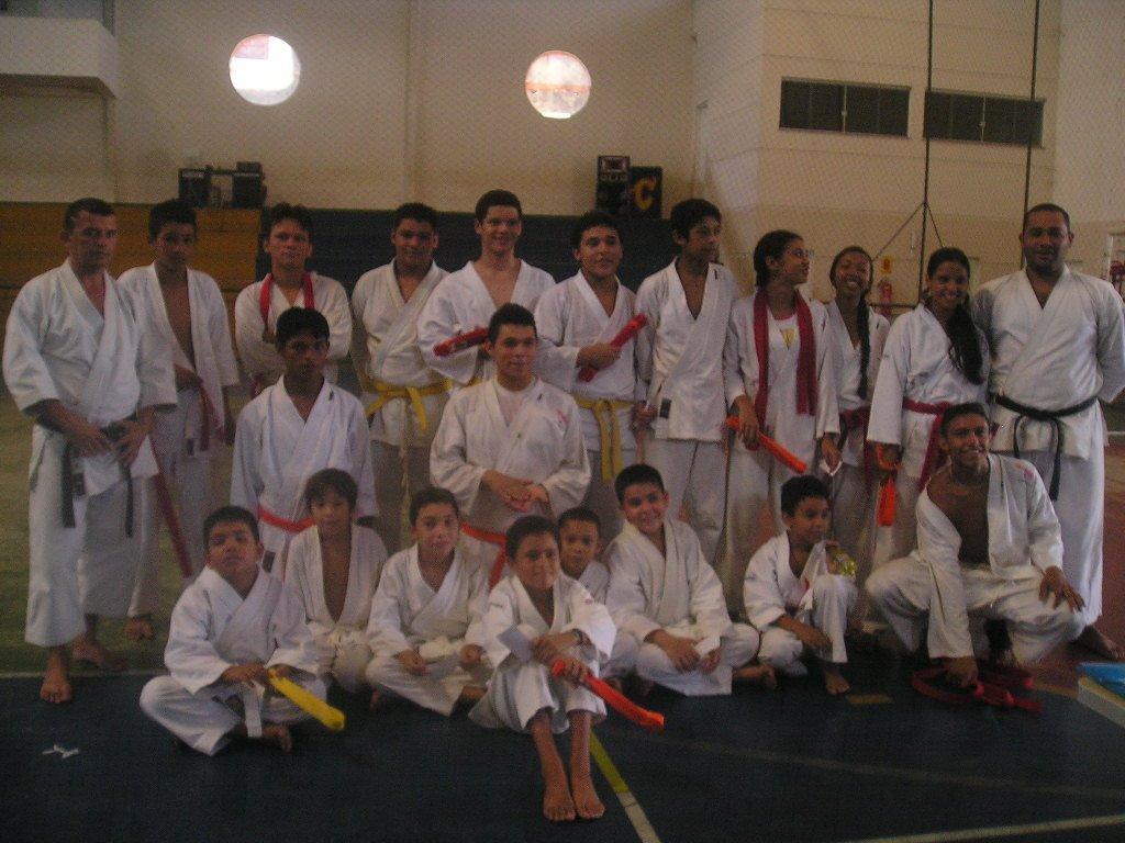 Exame de faixa - junho de 2007