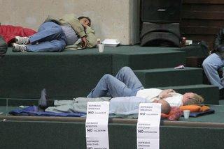 Diputados durmiendo en el Congreso de los Diputados