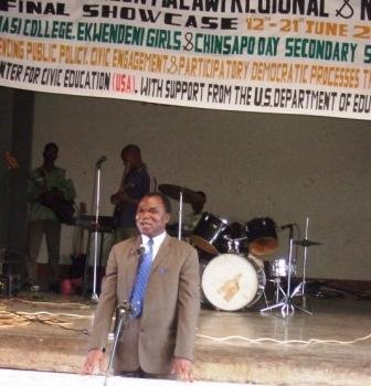 Dr. Elias Chakwera, Principal, Domasi College of Education Speaks