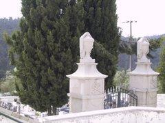 Cemitério-Entrada