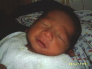 Brayden Carlos - October 13, 2005